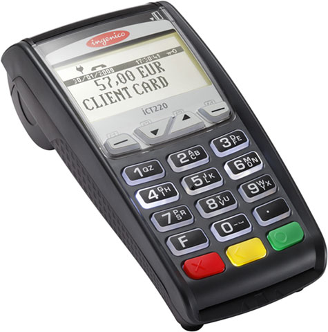 Ingenico iCT220 EMV | Contactless | PCI Compliant-0