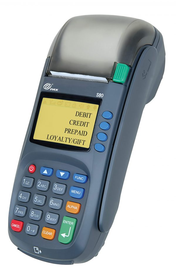 PAX S80 Credit Card Terminal | Dual Comm | EMV -0